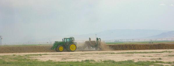 Composting at Webb Basin Dairy