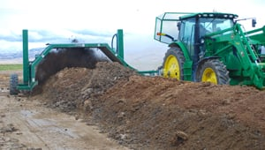 composting on webb dairy