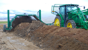 composted manure and dairy waste