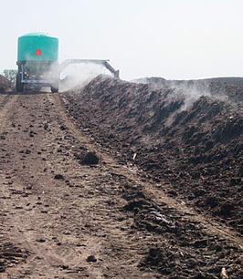 composting row