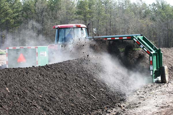 composting biosolids